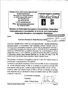 Adr 47 din 1 iulie 2013 salariu minim pe SRR