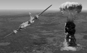 Enola Gay si Radio bomba atomica