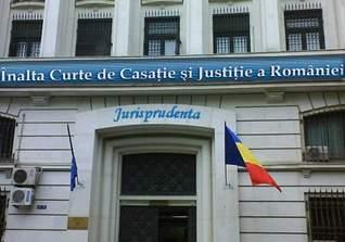 Inalta Curte de Casatie si Justitie