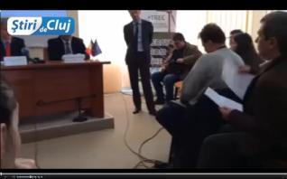 Conferinta de presa la Cluj