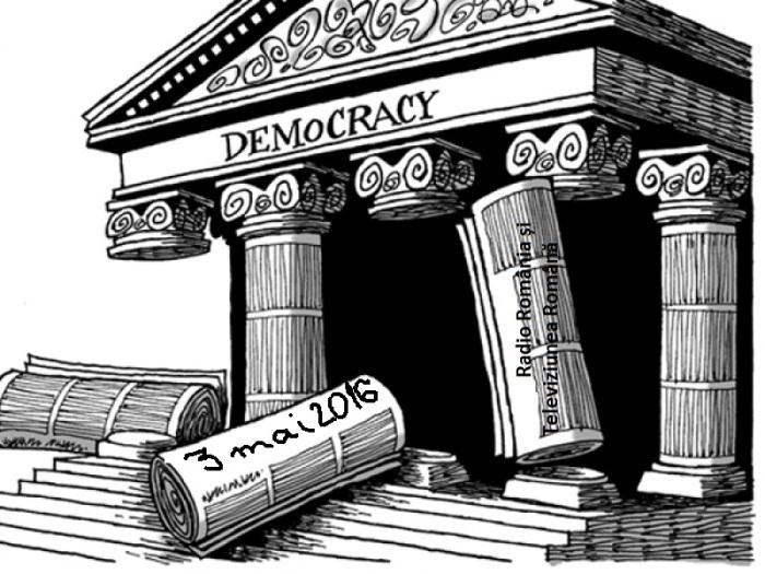 Libertatea presei este stalpul democratiei 3 mai 2016