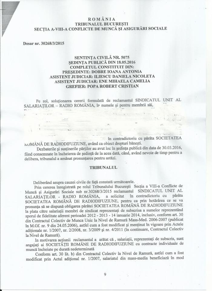 Sentinta civila 5075 dosar 30268 3 2015 pag 9