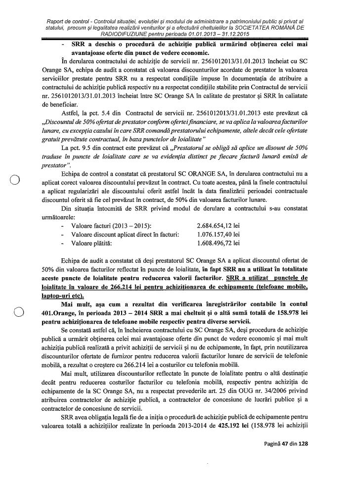 Raport Curtea Conturi p II8