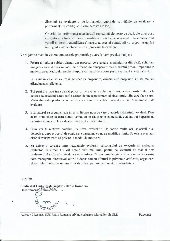 Adresa 40 din 7 mai 2018 ROI Regulam evaluare propuneri catre SRR pg2