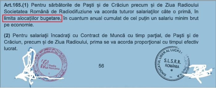 Art 165 alin. 1 CCM
